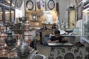 Irán 223 Orfebres bazar Isfahan