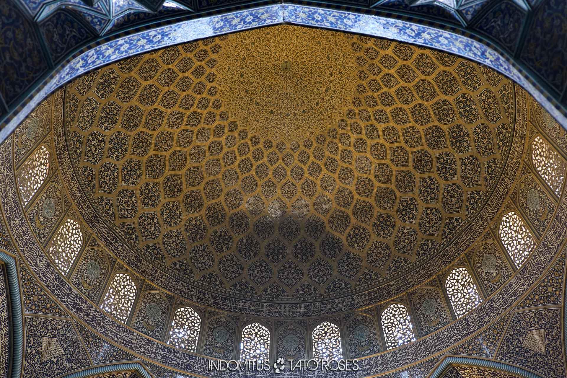 Irán 295 Mezquita del jeque Lotf Allah Naghsh i Jahan Isfahan