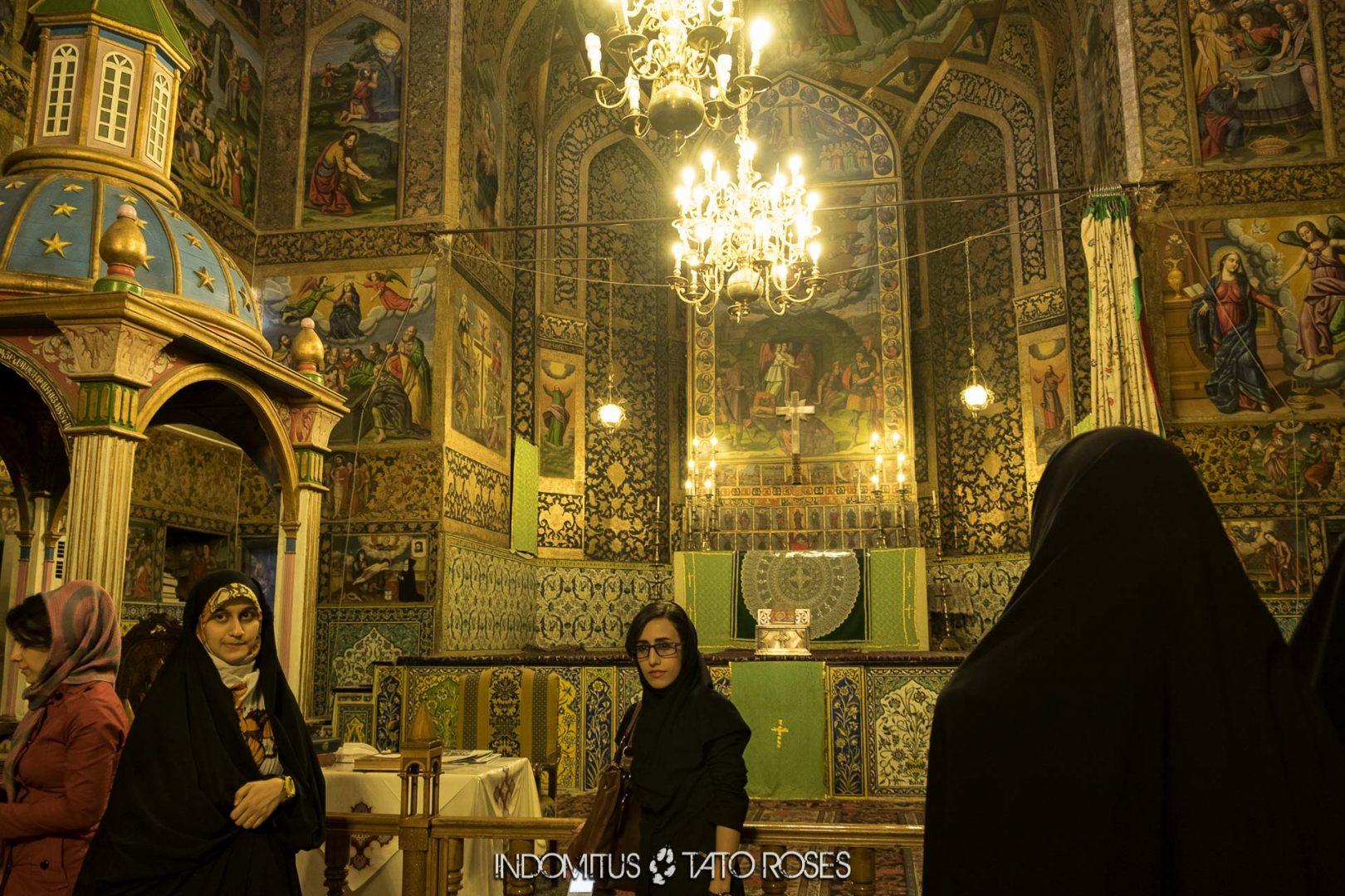 Irán 307 Iglesia armenia de Belén Isfahán