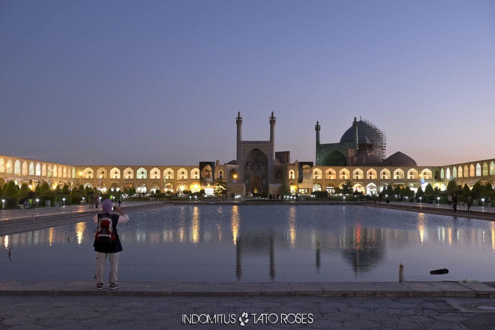 Irán 342 Naghsh i Jahan Isfahán