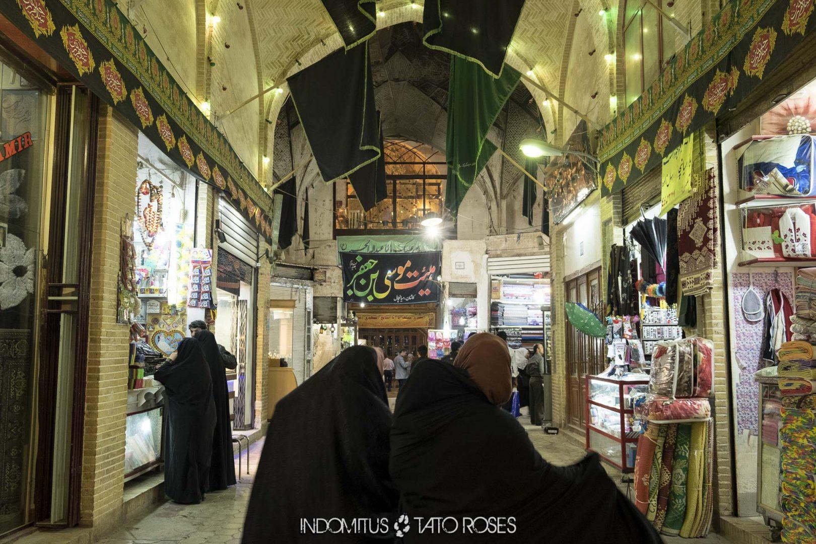 Irán 386 Bazar de Kashan