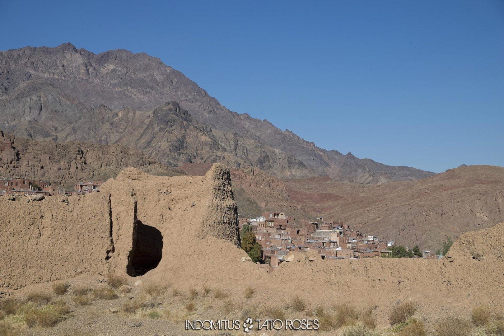 Irán 430 Fortaleza de Abyaneh