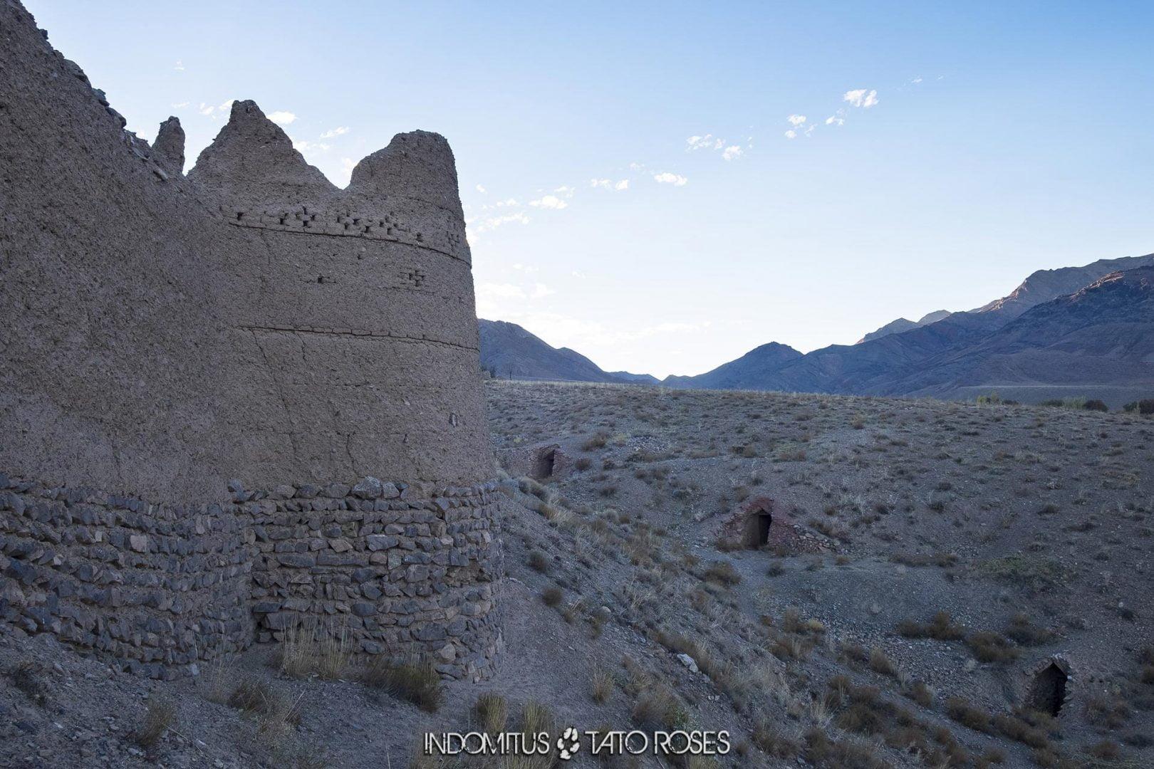 Irán 445 Fortaleza de Abyaneh