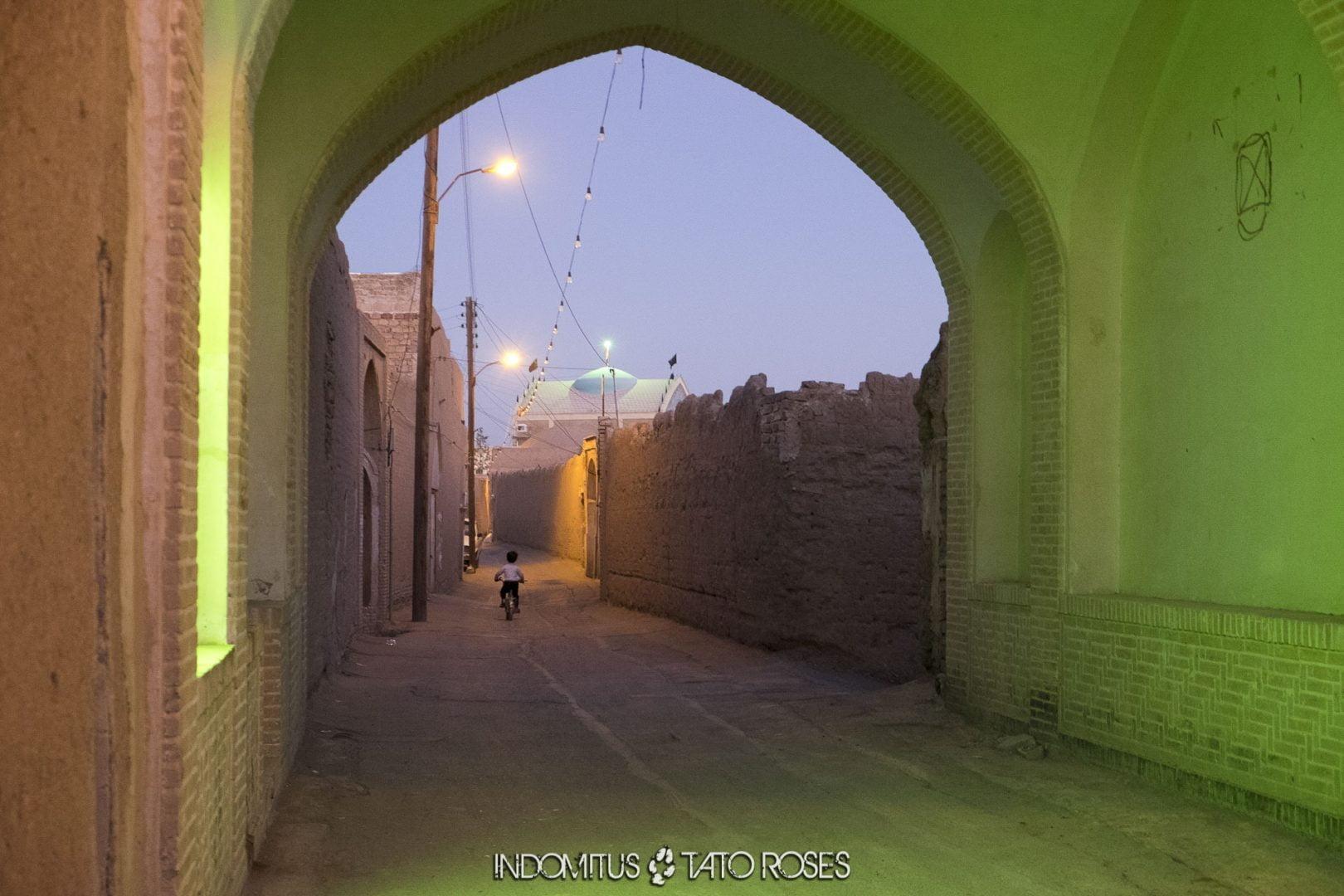 Irán 518 Casco antiguo de Kashan