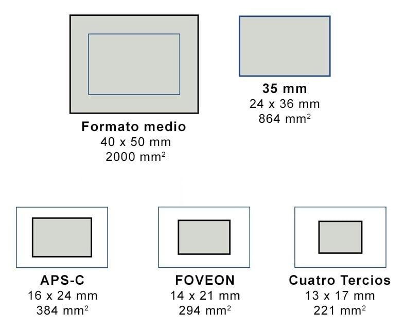 Sensores y formatos