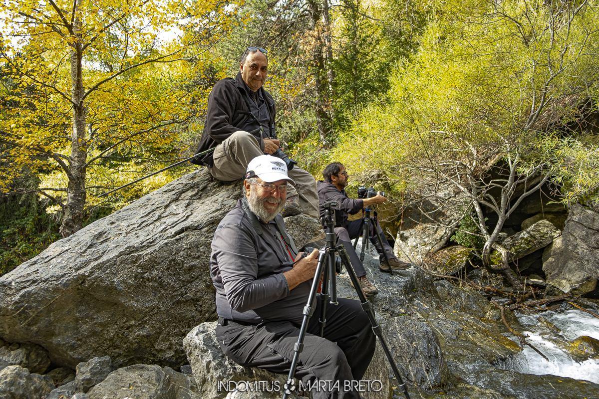 participantes del phototrekking