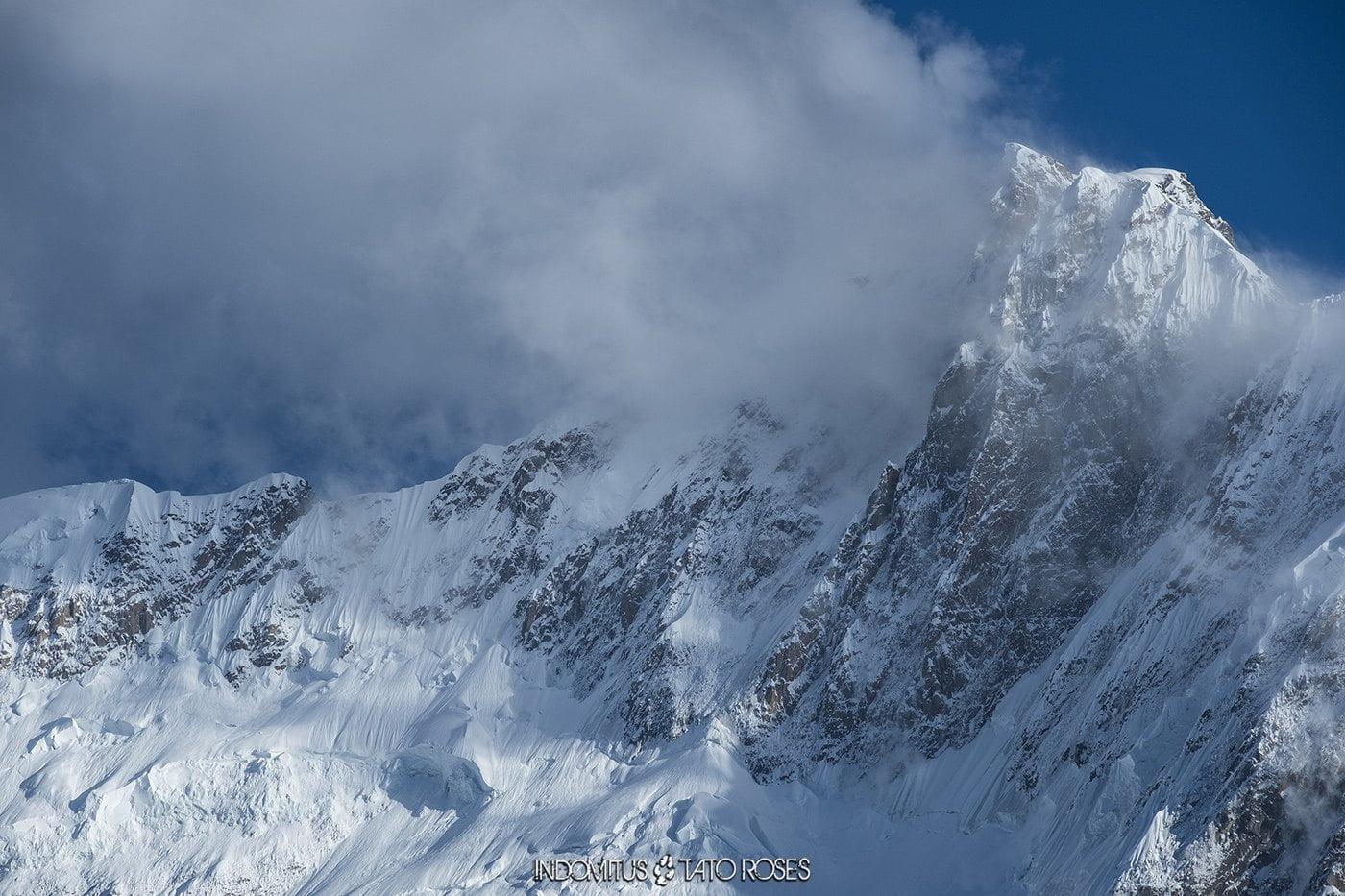 Camp 2 (4120m) Trek glaciar Kuk-e-Yaz