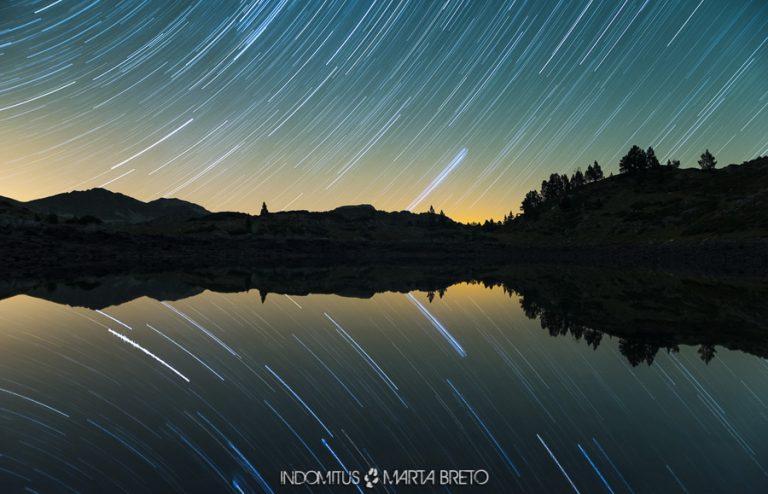 trazas de estrellas