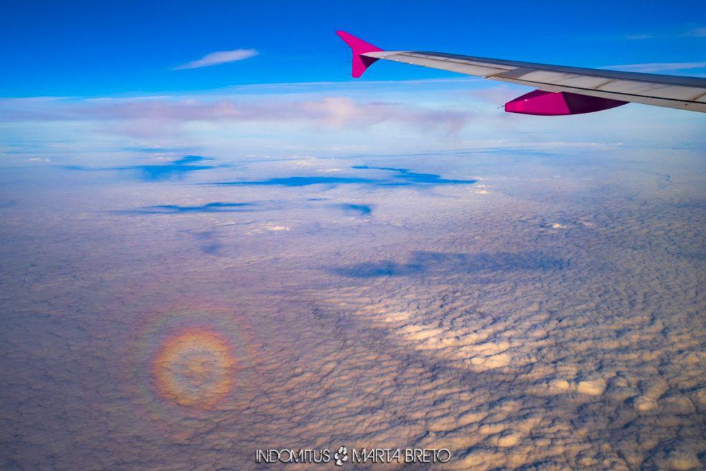 Arcoíris circular