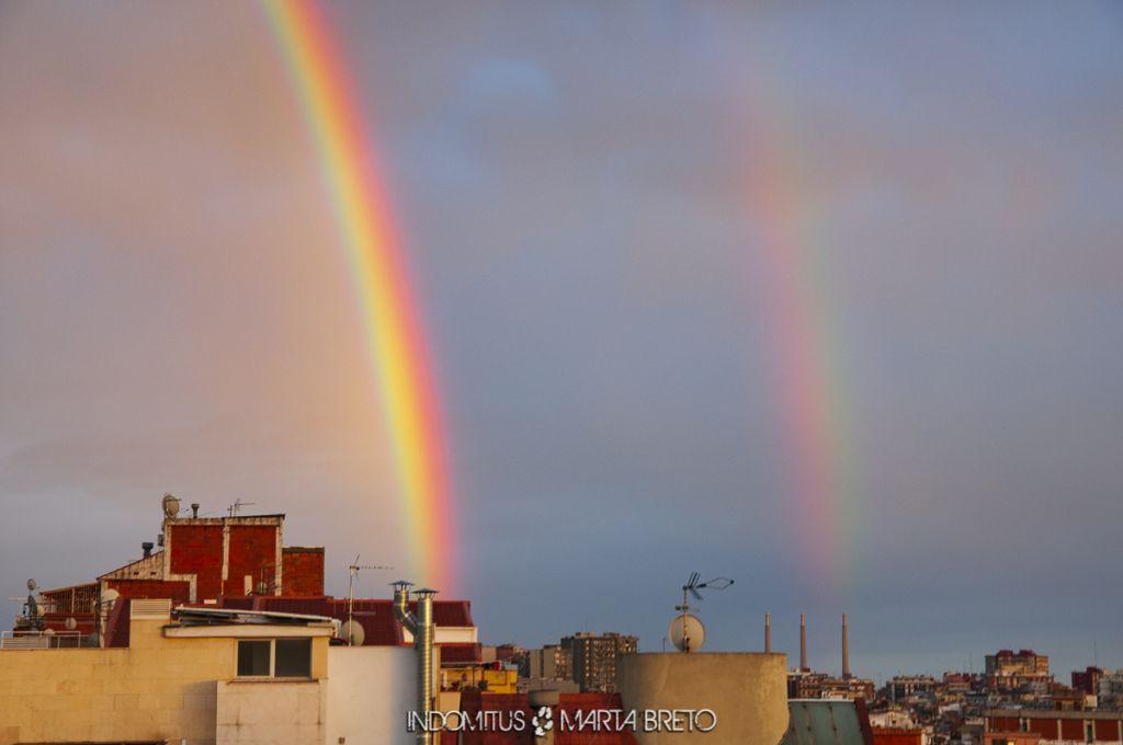 Arcoíris doble