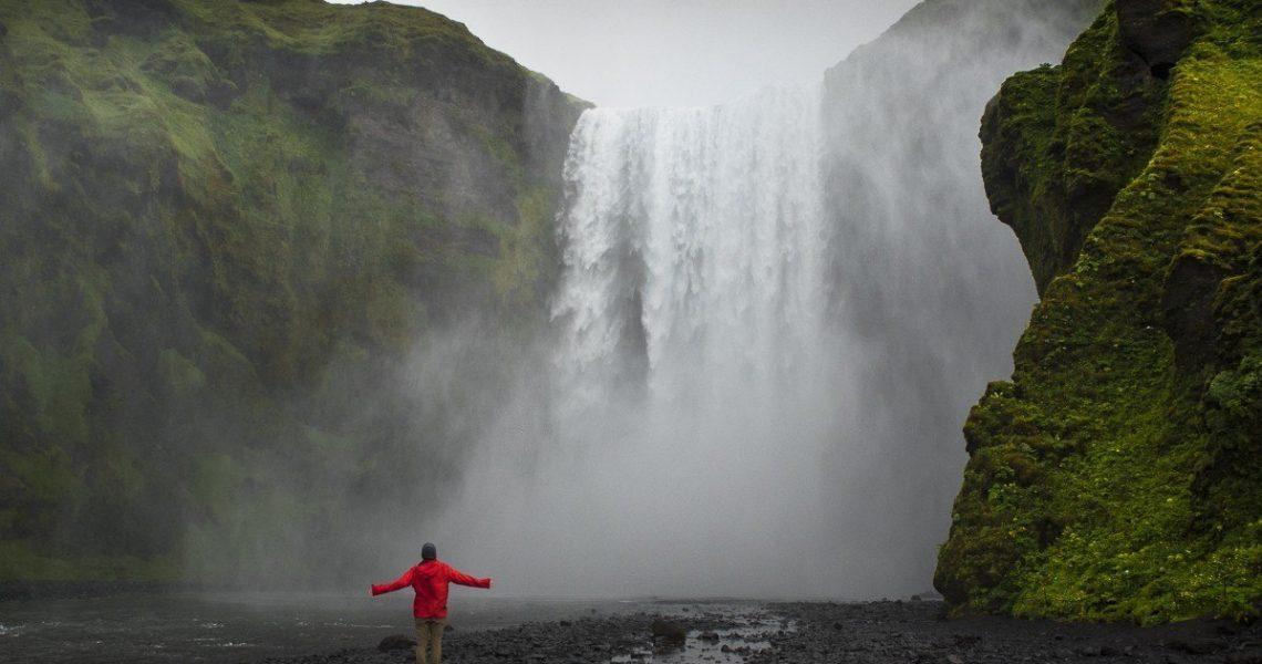 Sentir la naturaleza, Skógafoss
